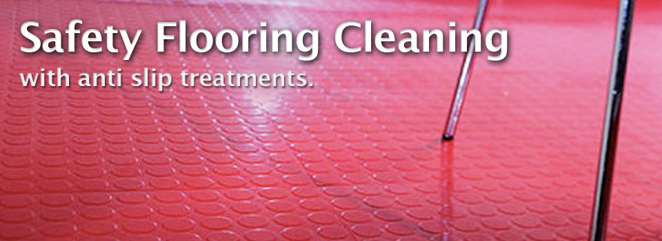 Safety Flooring Cleaning